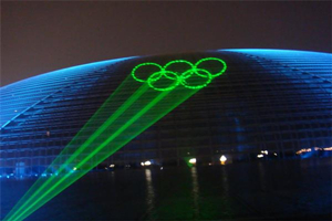 The commercial value of laser lights is: how wonderful is it in outdoor advertising?